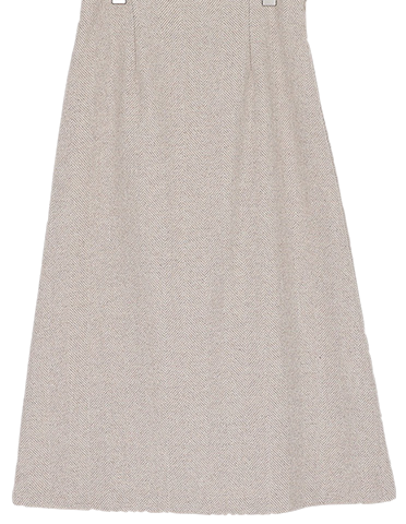 herringbone mate skirt (2colors)