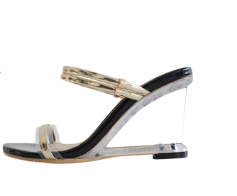 Crean Wedge Sandals & Mule 8cm