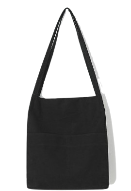 Two Pocket Canvas Eco Bag
