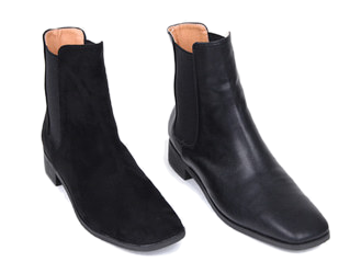 front square ankle boots (230-250)