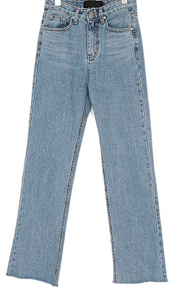 wayne light denim pants