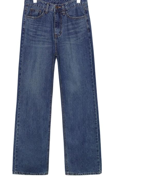 BRIGHT STRAIGHT DENIM PANTS