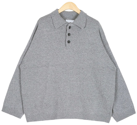 mango wool collar knit