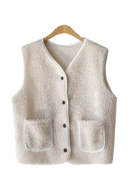 Foggy Fleece Vest