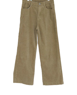 Tension dual corduroy pants