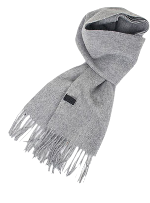 plain daily wool muffler