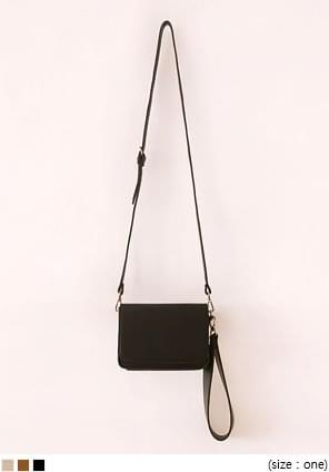 2 WAY STRAP LEATHER MINI BAG
