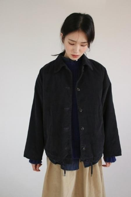 quilting corduroy jacket (3colors)