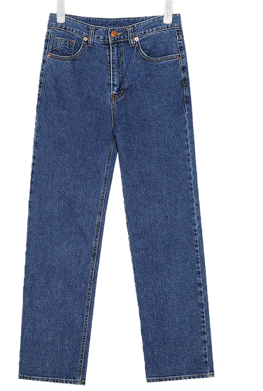 royal straight denim pants (s, m, l)