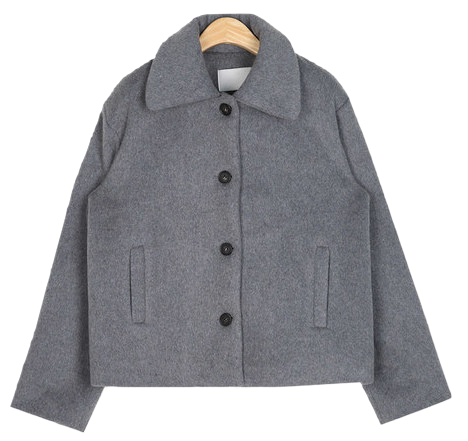 choice wool short jacket