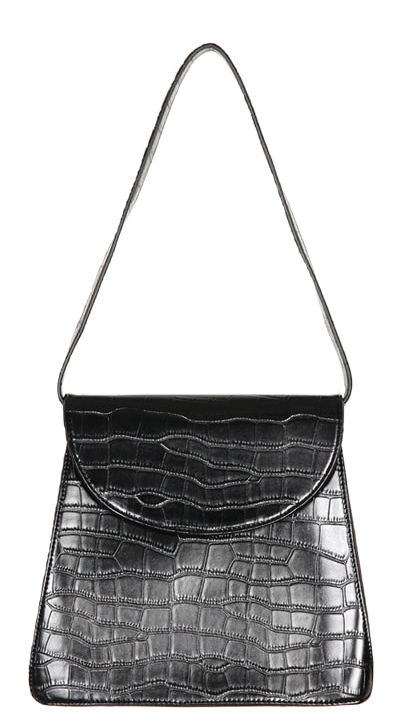 crocodile shoulder bag (2 color)