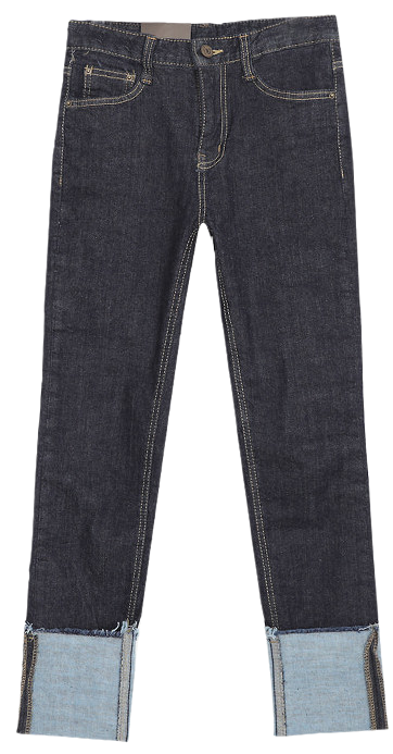 Bermuda roll-up date pants