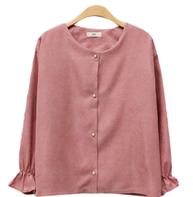 Pearl Round Blouse