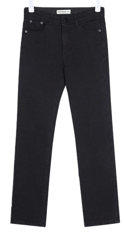 SHALOM black denim pants