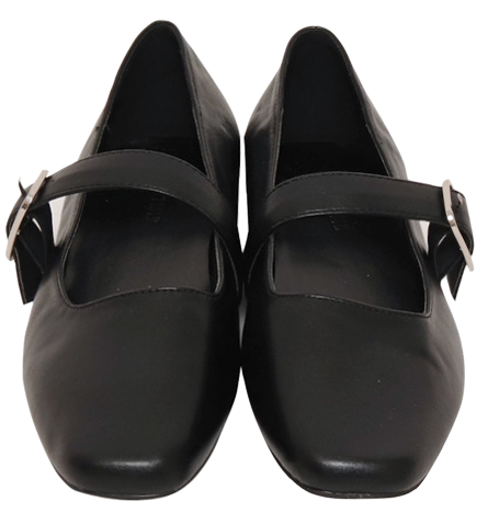 Basic Mary Jane Flat Shoes