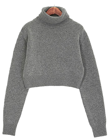 Glam wool knit