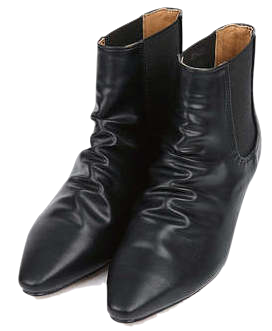 sharp middile ankle boots