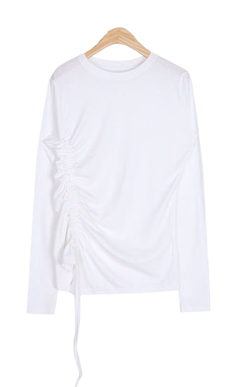 one side shirring point T