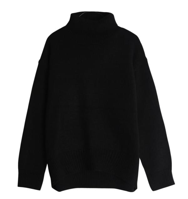 Winter Plane Turtleneck Knit