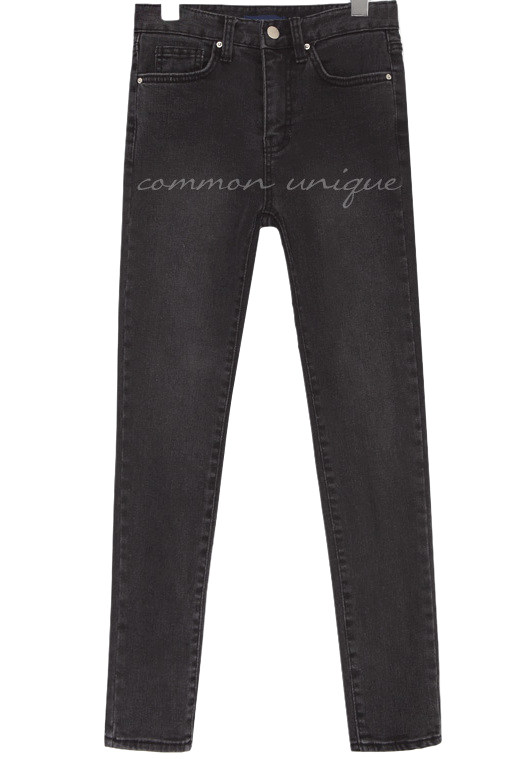 CORNER NAPPING SLIM DENIM SKINNY