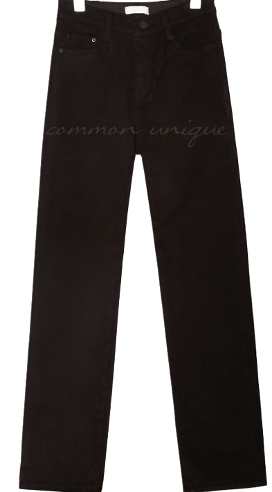 FUR LINING BANDING COTTON PANTS