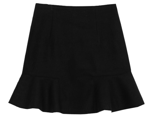 Pram mini-made wool skirt