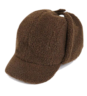 chestnut dumble ball cap