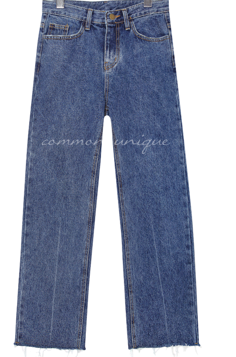 BUNKER CUTTING DENIM PANTS