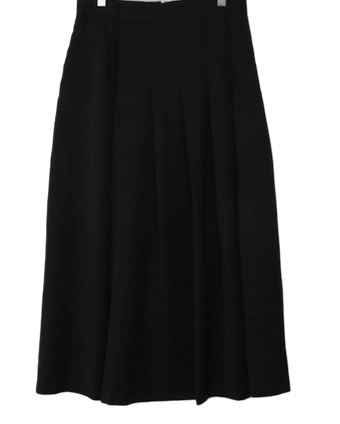 Note-Pleated Skirt