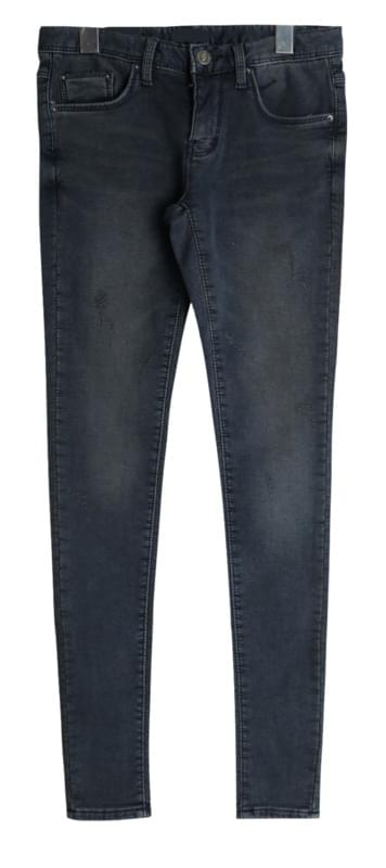 Nova wash brushed denim skinny