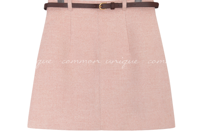 OILLY BELT SET MINI SKIRT