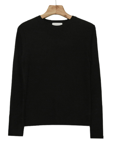 Self-produced / PBP. Witch Fit Wool Tensel Round Tee