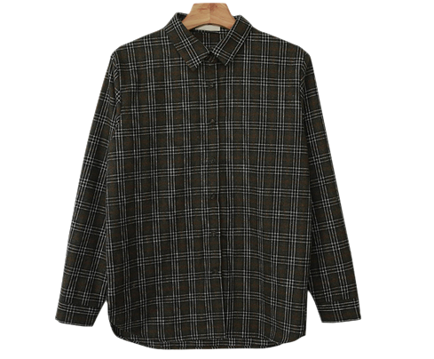 Vintage Brick Check Wear Shirt