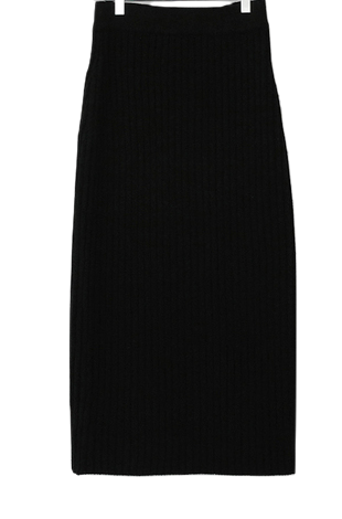 Chorus Golgi Knit Long Skirt