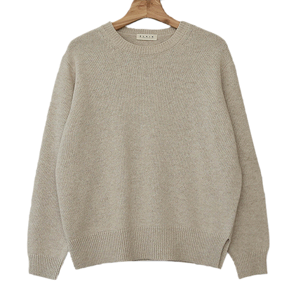 Self-produced / PBP. Mild round wool knit