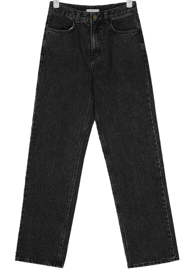 standard wide napping denim pants