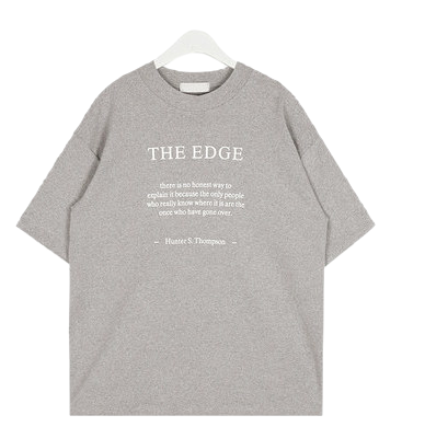 edge boxy cotton T