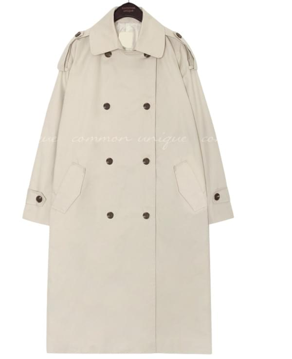 RORE DOUBLE TRENCH COAT
