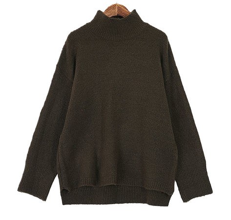 Lee to turtleneck knit