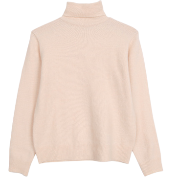 Sweet Milk Neck Polar Knit