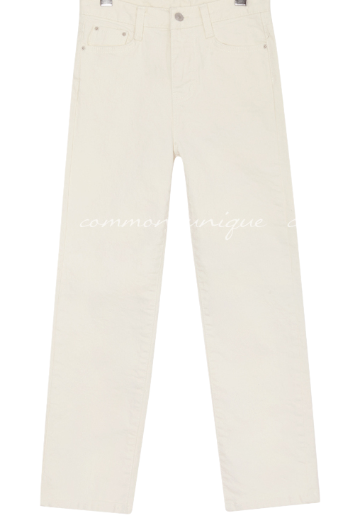 DUTCH STRAIGHT COTTON PANTS
