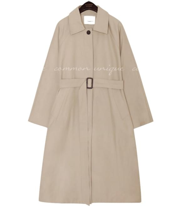 MATTE RAGLAN TRENCH MAC COAT