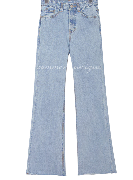 SWELL BOOTS CUT DENIM PANTS