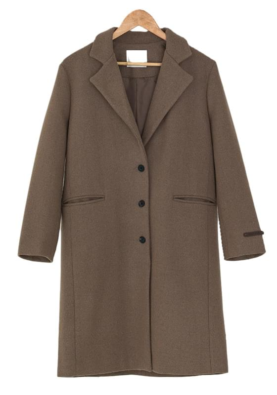 standard fit wool coat