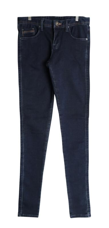 Derby Stitch Brushed denim Skinny