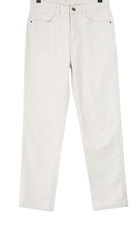 Cuban brushed pants