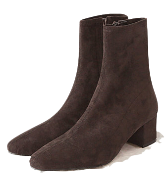 ROSE SUEDE SLIM ANKLE BOOTS