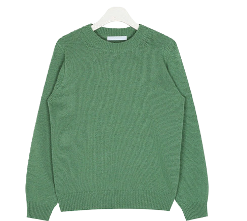 hit normal round wool knit