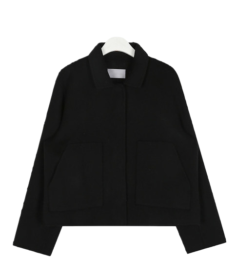 big pocket short jacket
