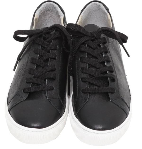 Win real cowskin sneakers_H